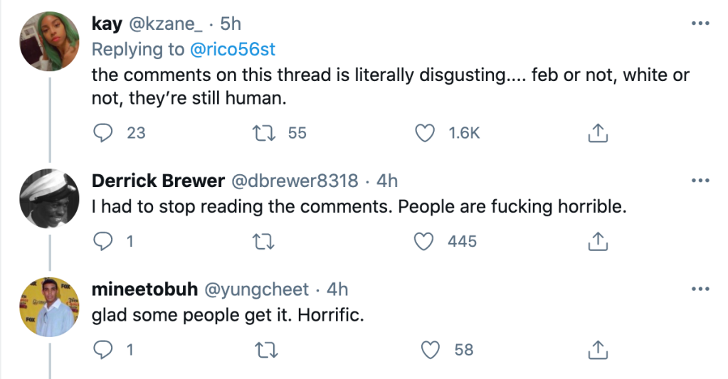 """""""People are fucking horrible."""""""